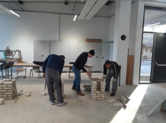 Izpiti s poročja gradbeništva potekajo v novih prostorih
