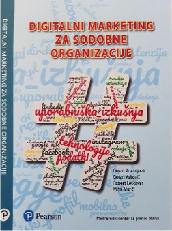 Na voljo knjiga: Digitalni marketing za sodobne organizacije